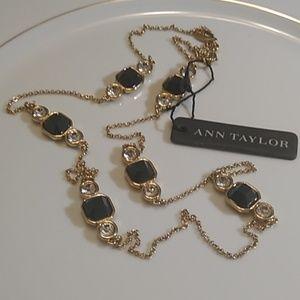 Ann Taylor gem necklace